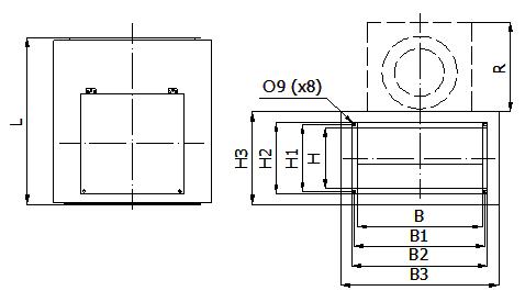 Вентилятор для прямоугольного канала NAVEKA VS
